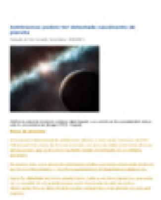 Astrônomos Podem Ter Detectado Nascimento De Planeta