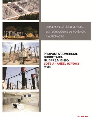 Pro...tas - Brpsa-12-395 - Lote A - Aneel 007-2012 - Com-mercado - Rev01