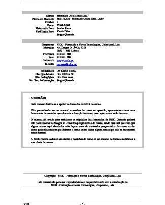Mi01-0226 - Microsoft Office Excel 2007