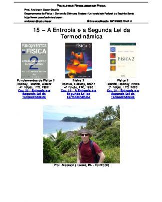 15 - Entropia Segunda Lei Termodinamica