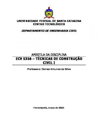 Apostila Tecnica Da Construção Civil1