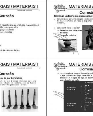 Engenharia Dos Materiais - 20 Aula