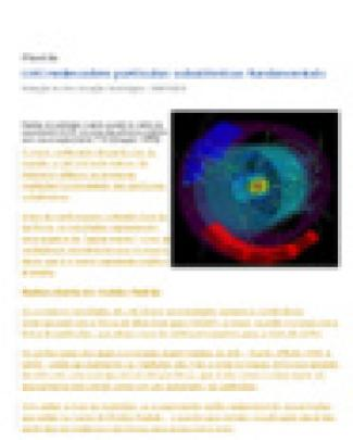 Lhc Redescobre Partículas Subatômicas Fundamentais