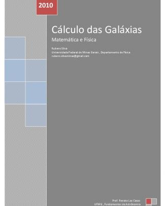 Cálculo Da Galáxias