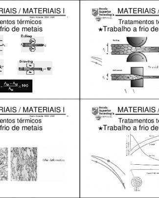 Engenharia Dos Materiais - 18 Aula