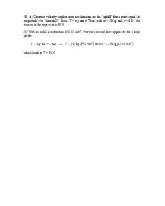 Solução Do Halliday 8.ed.vol.1. Cap.5 - Ch05 - P040