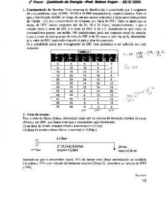 P1 - Pea2521 - Qualidade - 2005