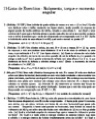 Lista De Exercícios De Fisica 1 (2)