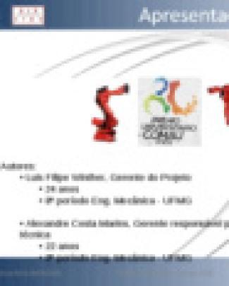 Apresentação Equipe Alr-ufmg V2 (2003)