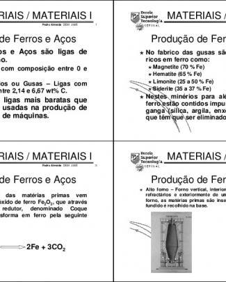 Engenharia Dos Materiais - 12 Aula