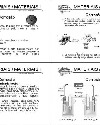 Engenharia Dos Materiais - 19 Aula