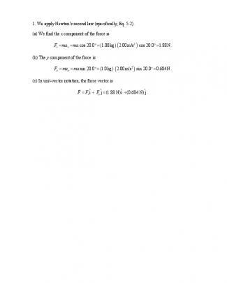 Solução Do Halliday 8.ed.vol.1. Cap.5 - Ch05 - P001