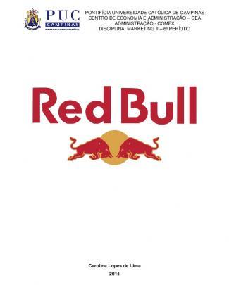 Red Bull: Uma Nova Proposta Estratégica De Marketing
