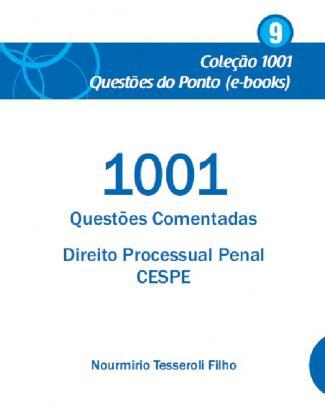 1001 - Questoes Direito Processual Penal - Cespe-pdf