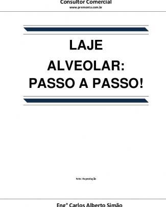 Laje Alveolar- Passo A Passo