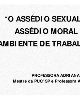 Trab - Assedio Moral