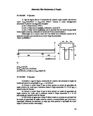 4. Material Nao-resistente A Tração