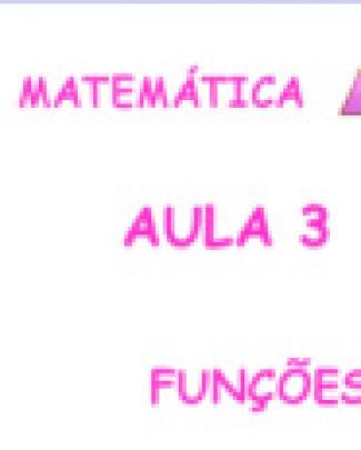 Exercicios Resolvidos Matematica - Aula 3 Funcoes