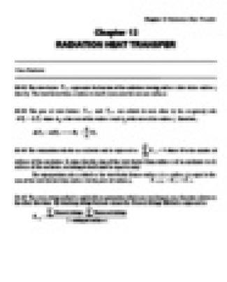 çengel - Solution Heat And Mass Transfer 2th Ed - Heat Chap12-001