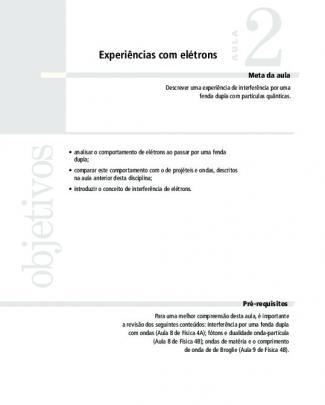 4726 Introdução A Mecanica Quantica Aula 02 Vol 1