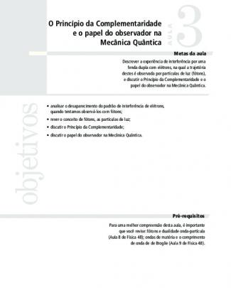 4726 Introdução A Mecanica Quantica Aula 03 Vol 1