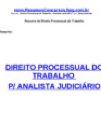 Trab - Direito Processual Do Trabalho Para Concursos