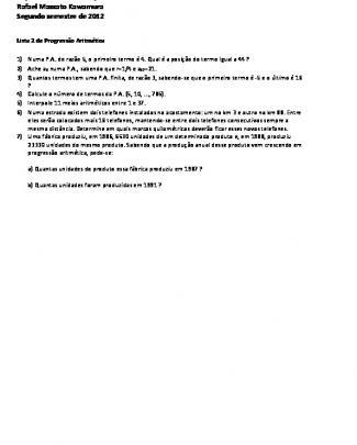 Lista 2 - Pa