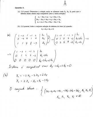 Mat2457 - álgebra Linear Para Engenharia I - 2paq2