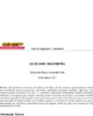Relatório Lei De Ohm - Multímetro