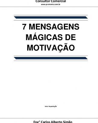7 Mensagens Mágicas De Motivação