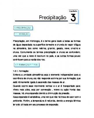 Apostila Hidrologia Aplicada - Cap. 3