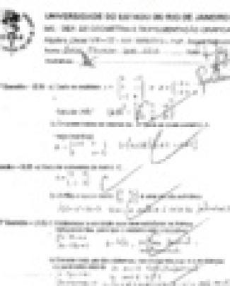 P2 De álgebra Linear Viii