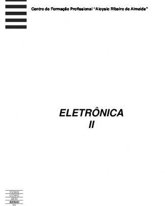 140 - Apostilas - Senai - Eletronica -2