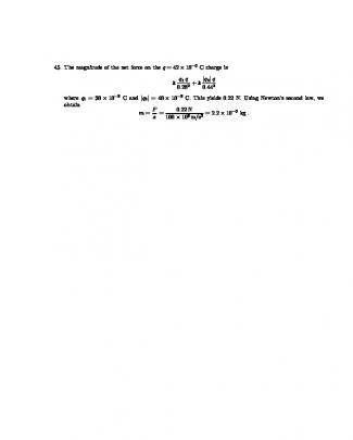 Resolução - Halliday - Volume 3 - Eletricidade E Magnetismo - P22 045