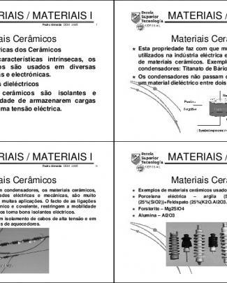 Engenharia Dos Materiais - 22 Aula