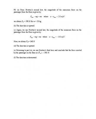 Solução Do Halliday 8.ed.vol.1. Cap.5 - Ch05 - P098