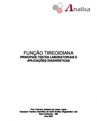 5º Semestre.part01 - Funcao Tireoidiana