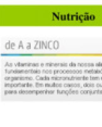 Nutrição De A A Z