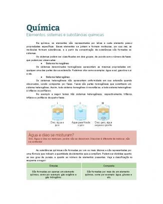 Química - Substâncias
