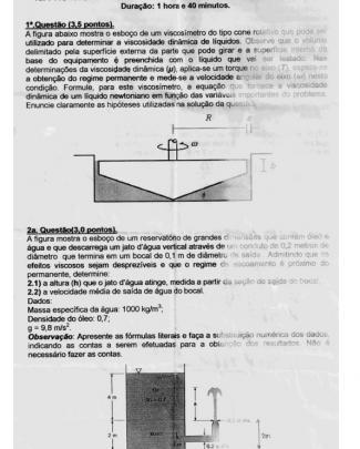P1 Pme2230 - Sem Resolução - P1 2011