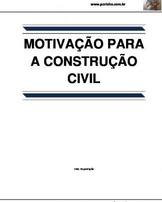 Motivação Para A Construção Civil