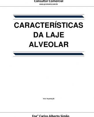Características Da Laje Alveolar