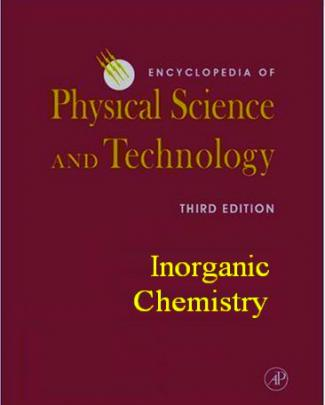 Science - Encyclopedia Of Physical Science And Technology - Inorganic Chemistry -...