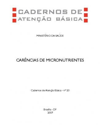 Carências De Micronutrientes