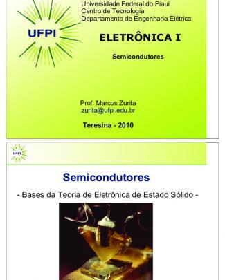 Eletronica - I 1 - Semicondutores V4 - Prn