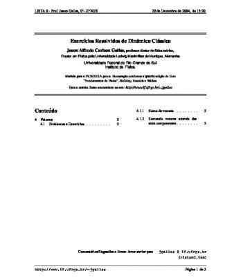 Exercícios Resolvidos-halliday 1