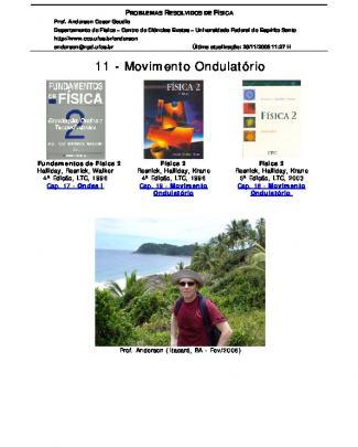 Resolucao Halliday Vol. 2 - Movimento Ondulatorio