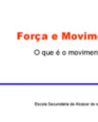 Movimento Fisica 1