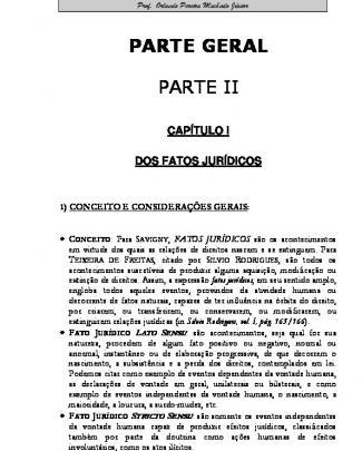 Apostila De Direito Civil Ii Parte Geral 2