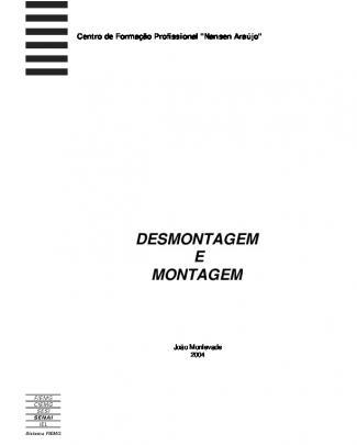 140 - Apostilas - Senai - Desmontagem De Elementos Mecanicos